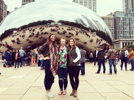 Girls at Cloudgate 2