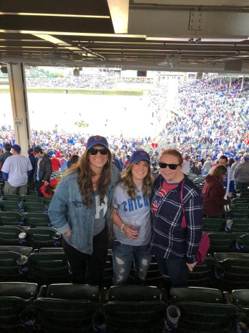 Girls at Wrigley